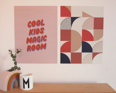 Affiche Cool Kids Magic Room – 30x40cm