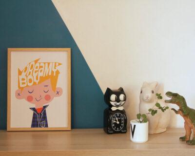 Affiche Dreamy Boy – 30x40cm